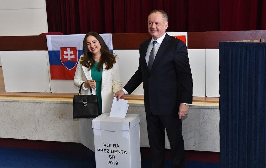 Andrej Kiska volil v Poprade: Ukážme, aké chceme Slovensko