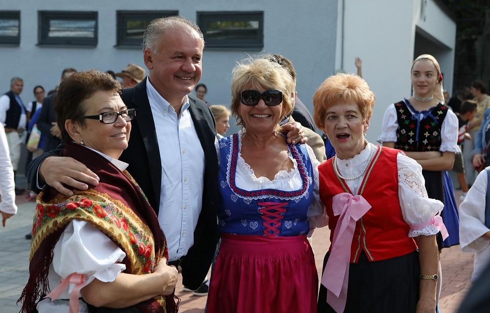 Prezident sa zúčastnil na Dobrom trhu a vinobraní v Rači