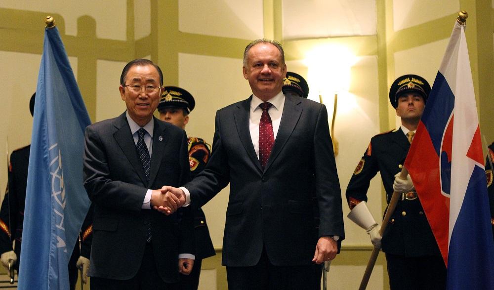 Andrej Kiska diskutoval s generálnym tajomníkom OSN