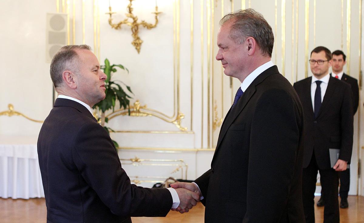 Prezident rokoval s nórskym predsedom parlamentu