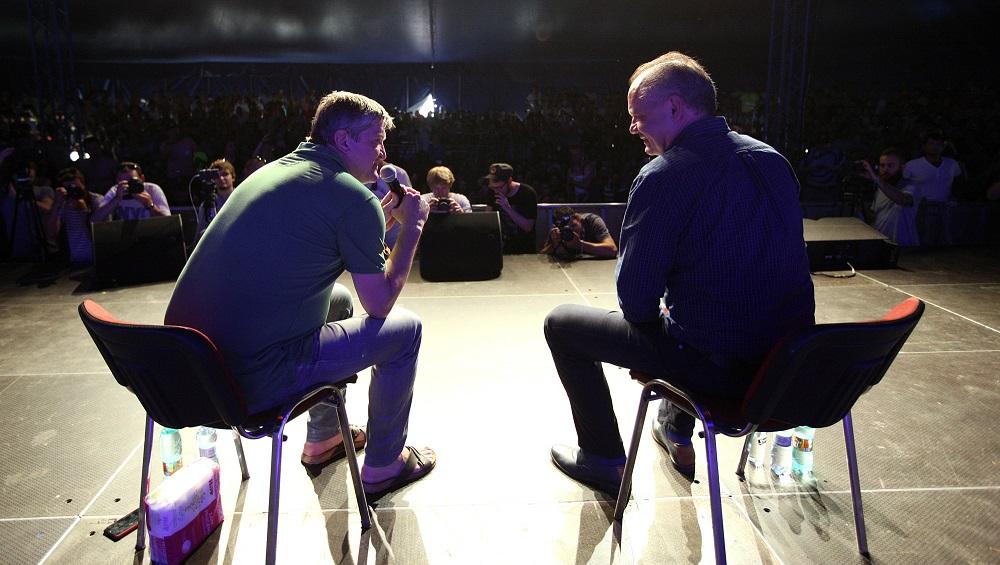 Prezident Kiska diskutoval na festivale Pohoda