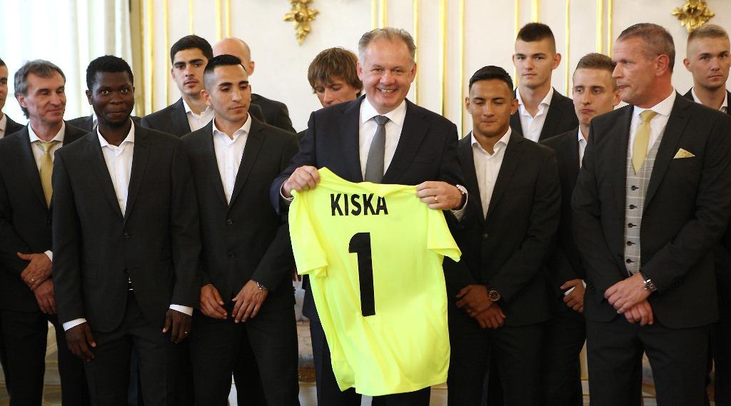Prezident Kiska zablahoželal víťazom futbalovej ligy zo Žiliny