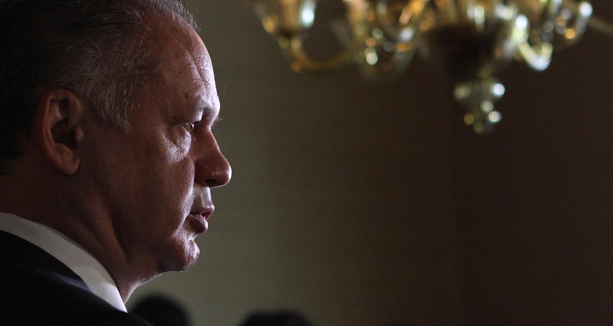 Prezident Kiska vrátil protiteroristický balík noviel zákonov