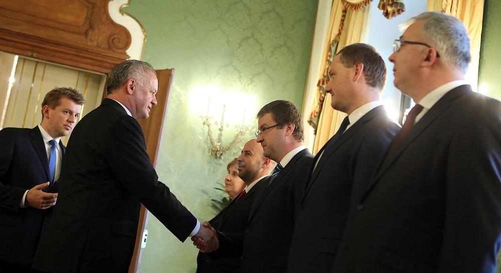 Prezident prijal dekanov právnických fakúlt k téme ústavného súdu