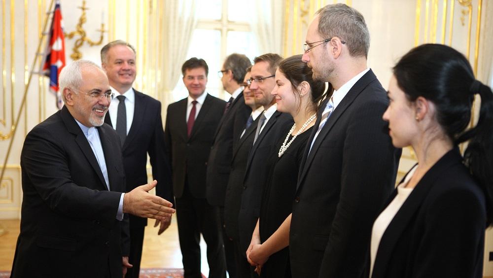 Prezident Kiska prijal iránskeho ministra zahraničia