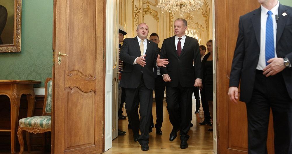 Kiska: Podporujeme gruzínske ambície stať sa členom NATO