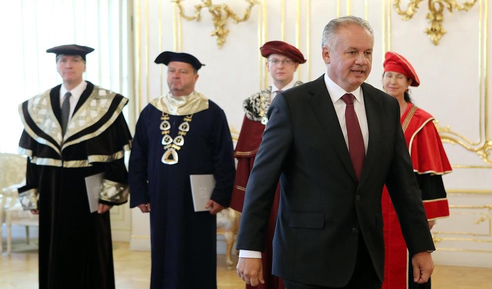 Prezident vymenoval štyroch rektorov vysokých škôl