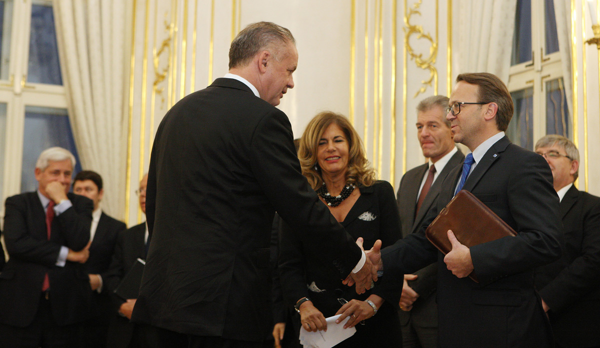 Prezident prijal lídrov európskych zamestnávateľských zväzov
