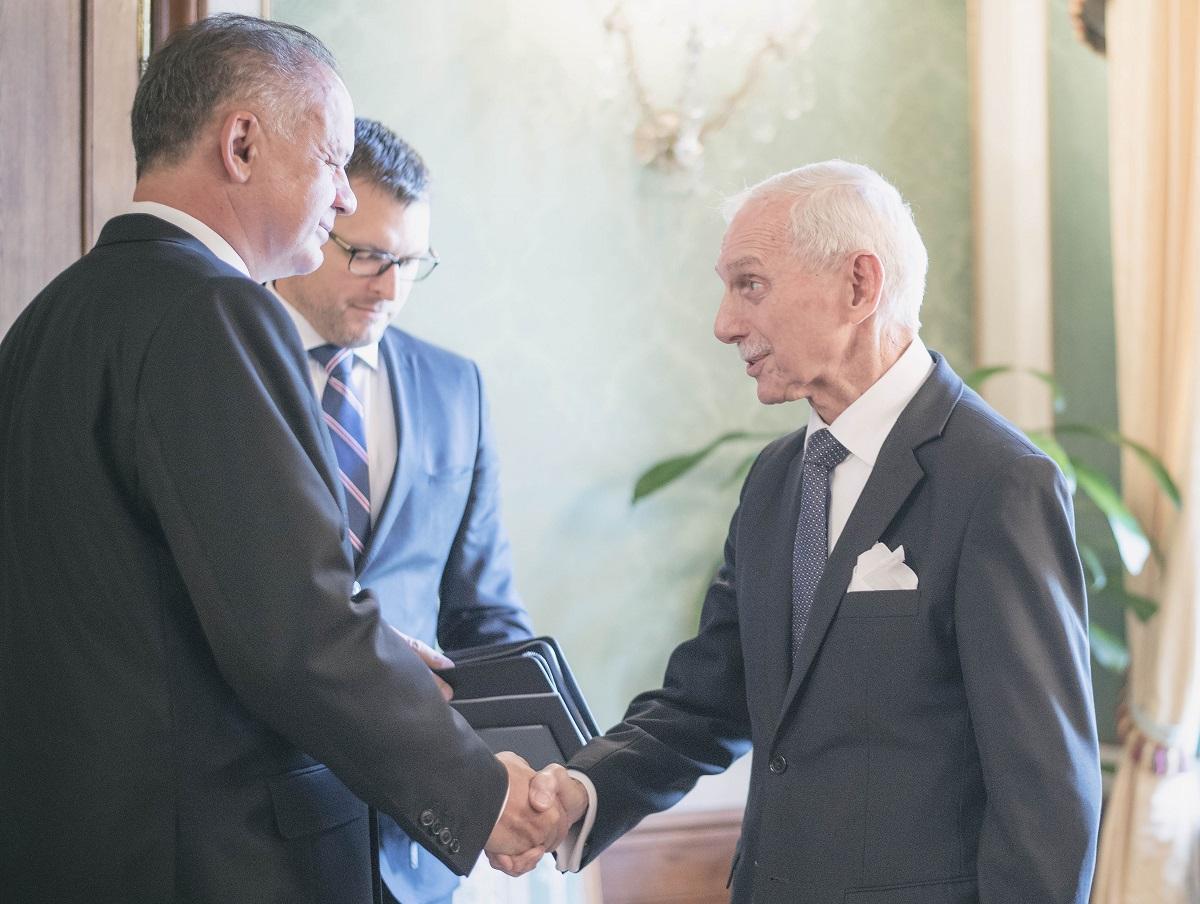 Prezident prijal šéfa medzinárodnej organizácie pre migráciu