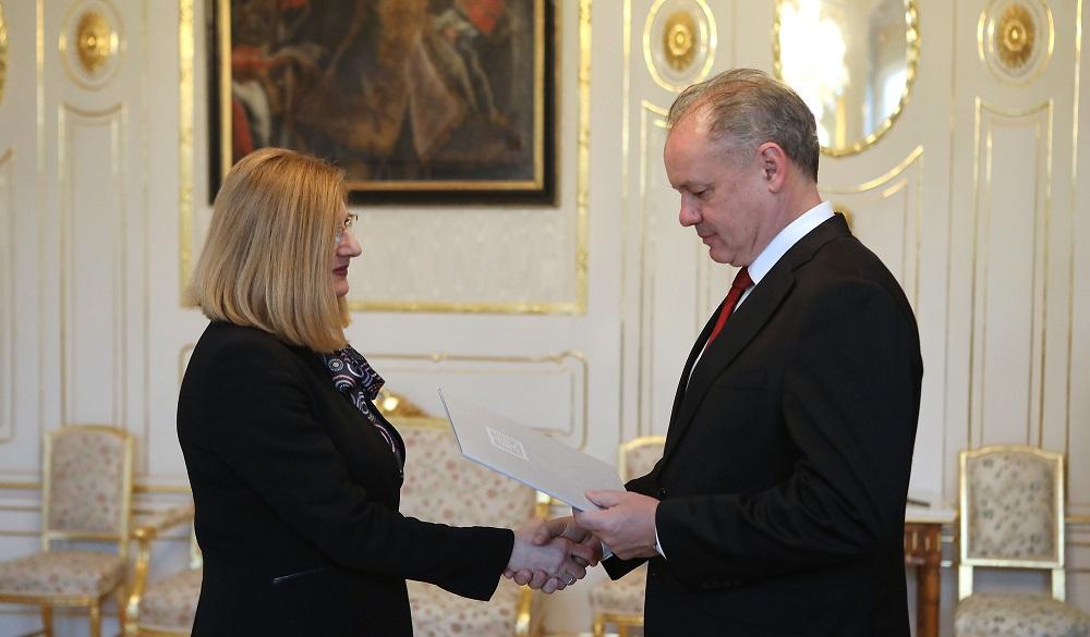 Prezident vymenoval ministerku Matečnú za podpredsedníčku vlády
