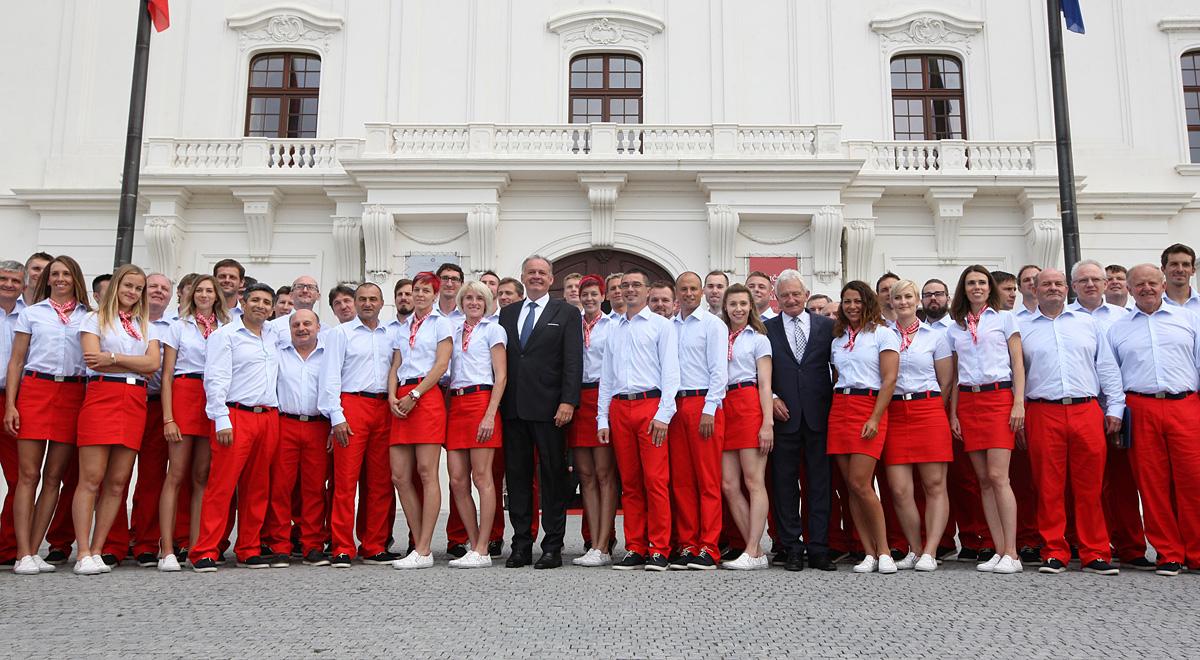 Prezident prijal sľub od slovenskej olympijskej výpravy