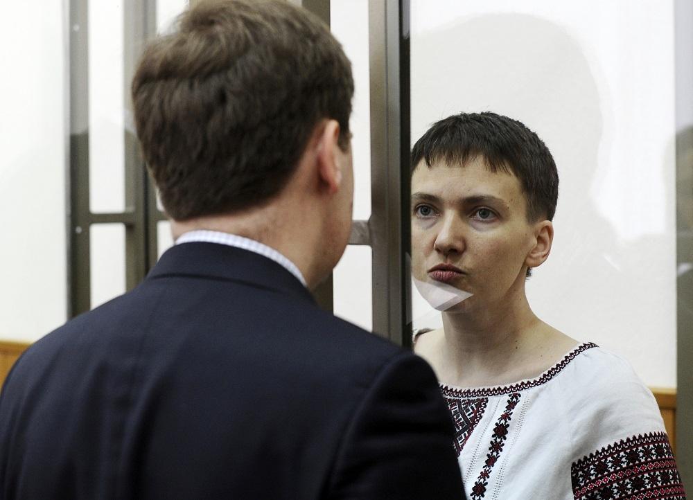 Prezident Kiska vyzýva na prepustenie Nadi Savčenkovej