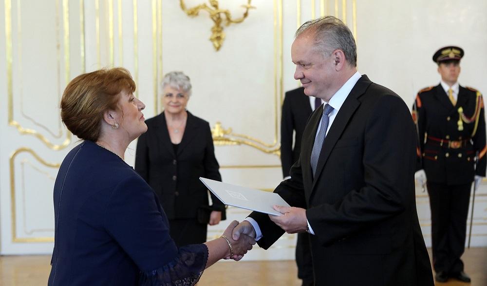Prezident vymenoval Jarmilu Urbancovú za podpredsedníčku Najvyššieho súdu