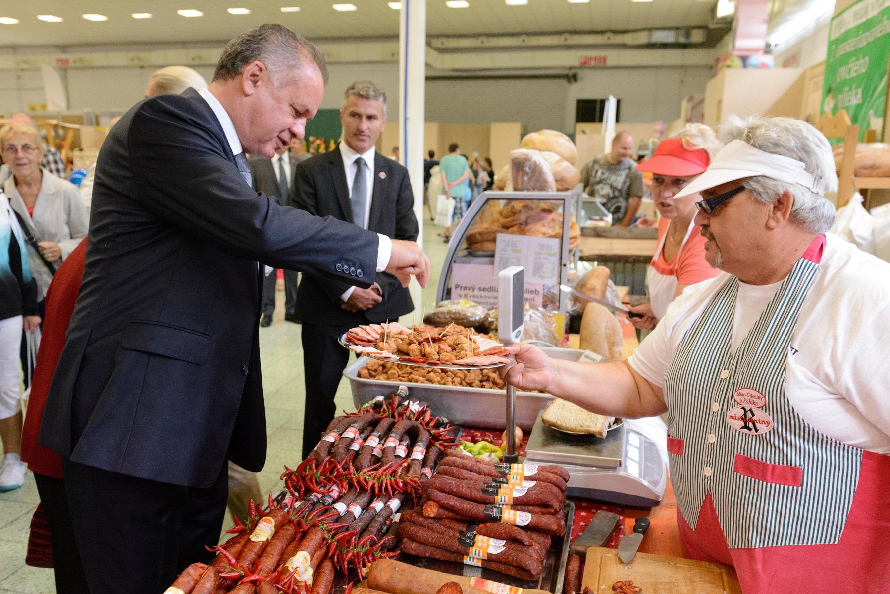 Prezident na Agrokomplexe: Poľnohospodárstvo je pre Slovensko kľúčové