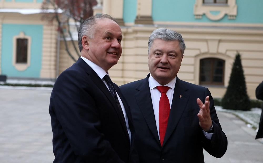 Prezident: Tešíme sa, keď bude Ukrajina v EÚ a NATO, ide dobrým smerom