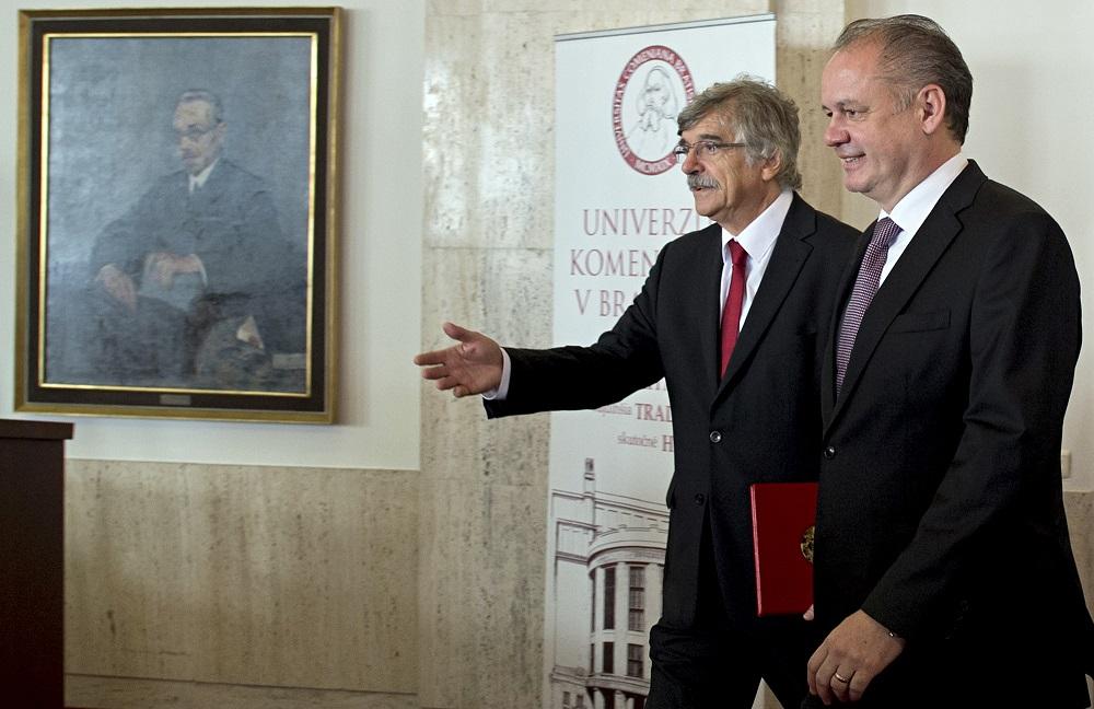 Na Univerzite Komenského si pripomenuli 550. výročie založenia Istropolitany