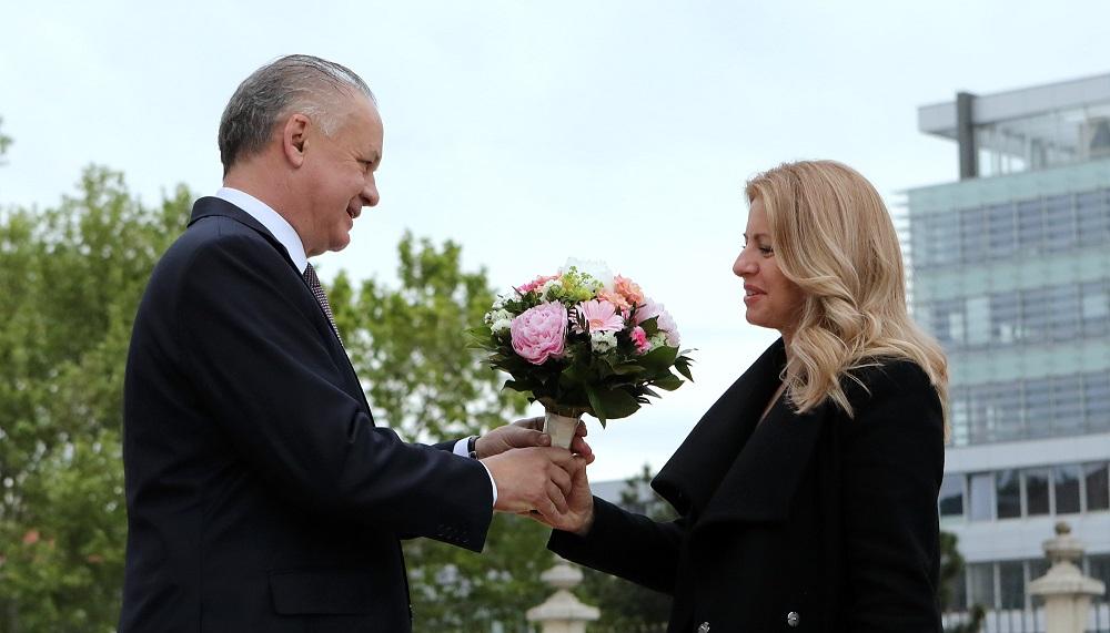 Prezident Andrej Kiska prijal zvolenú prezidentku Zuzanu Čaputovú