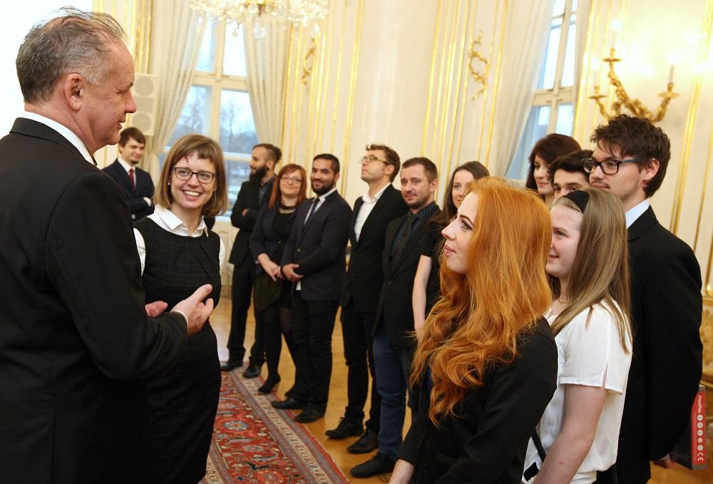 Prezident sa poďakoval víťazom ceny Most