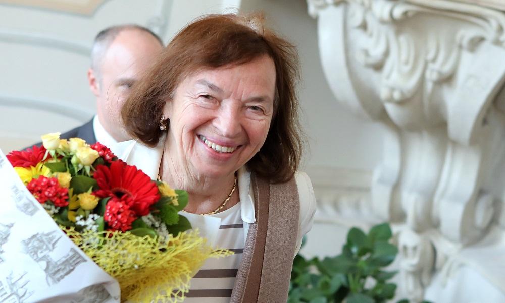 Prezident prijal českú veľvyslankyňu Klausovú