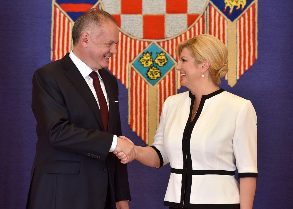 Andrej Kiska v Chorvátsku: Spoluprácu môžeme ešte zlepšiť