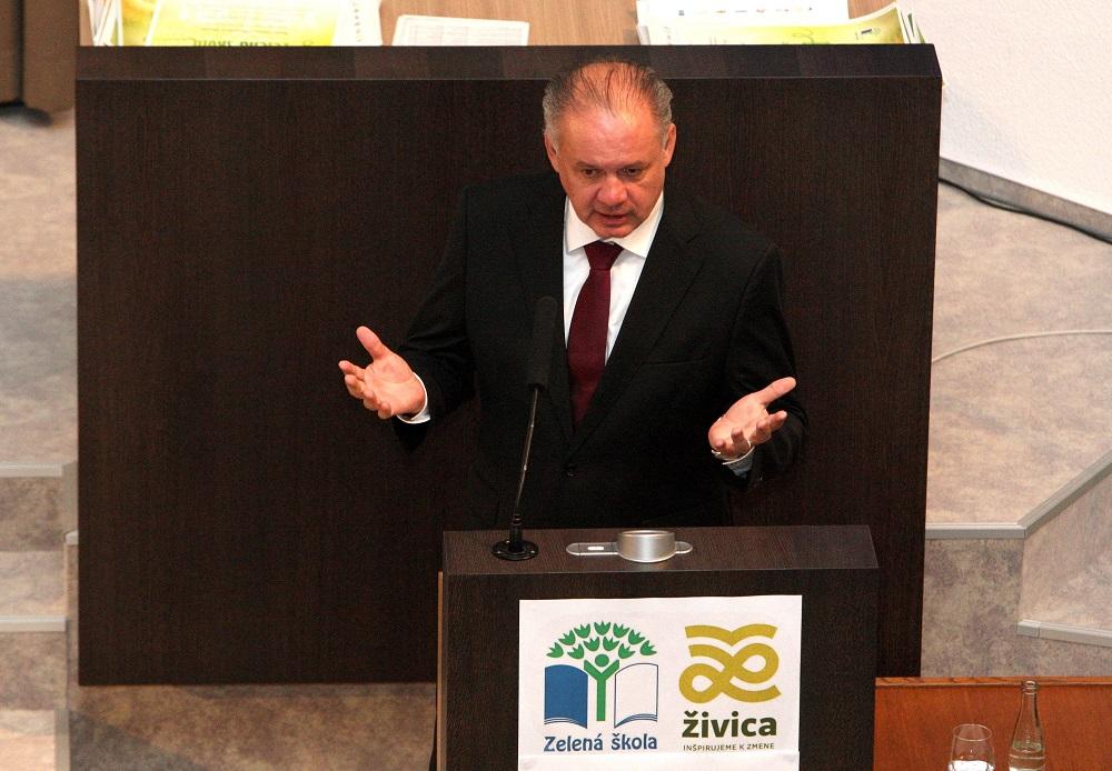 Prezident podporil program Zelená škola