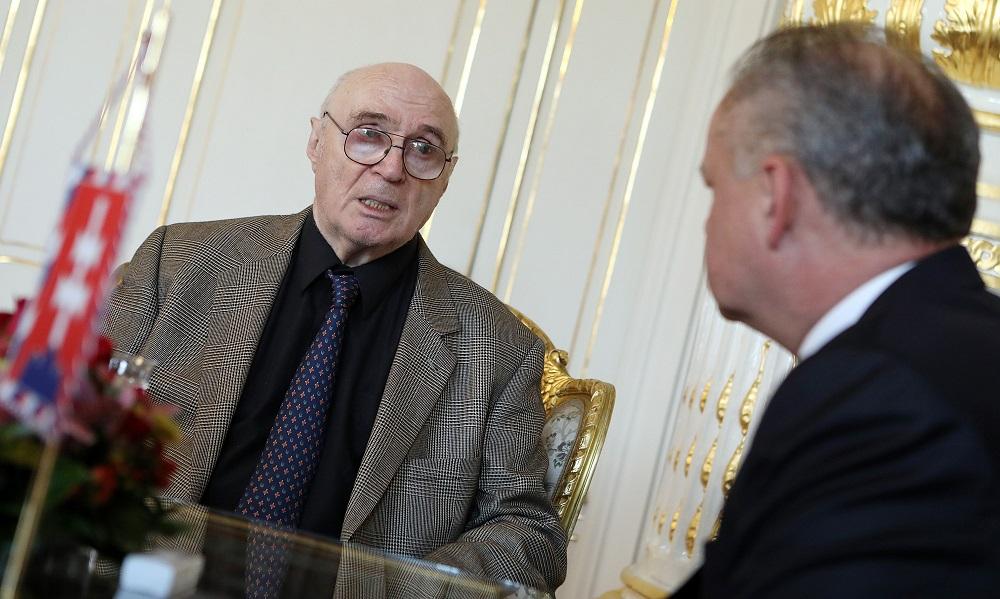 Kiska prijal Litvinova, ktorý sa v '68 v Moskve postavil za Československo