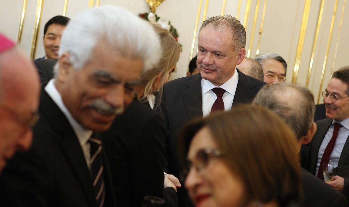 Prezident Kiska diplomatickému zboru: Bude to rok pravdy