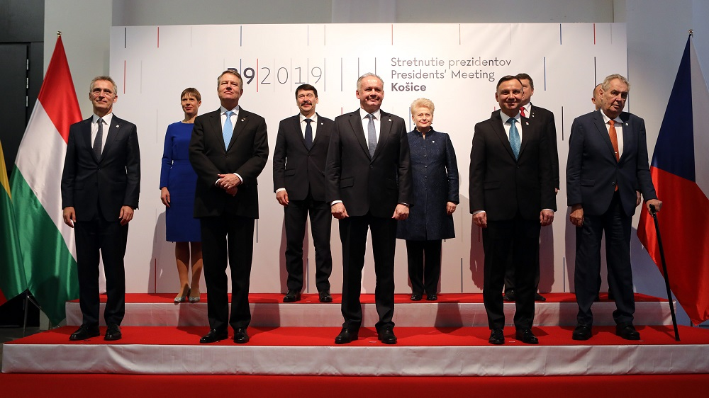The Presidents of the B9 countries discussed security in Košice