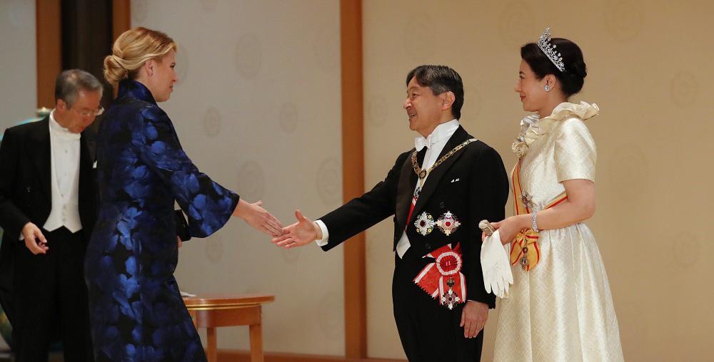 Prezidentka zablahoželala v mene Slovenska novému japonskému cisárovi
