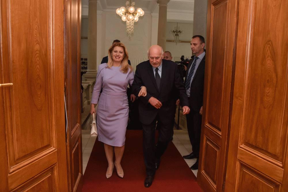 Prezidentka v Brne pripomenula význam ústavy a právneho štátu