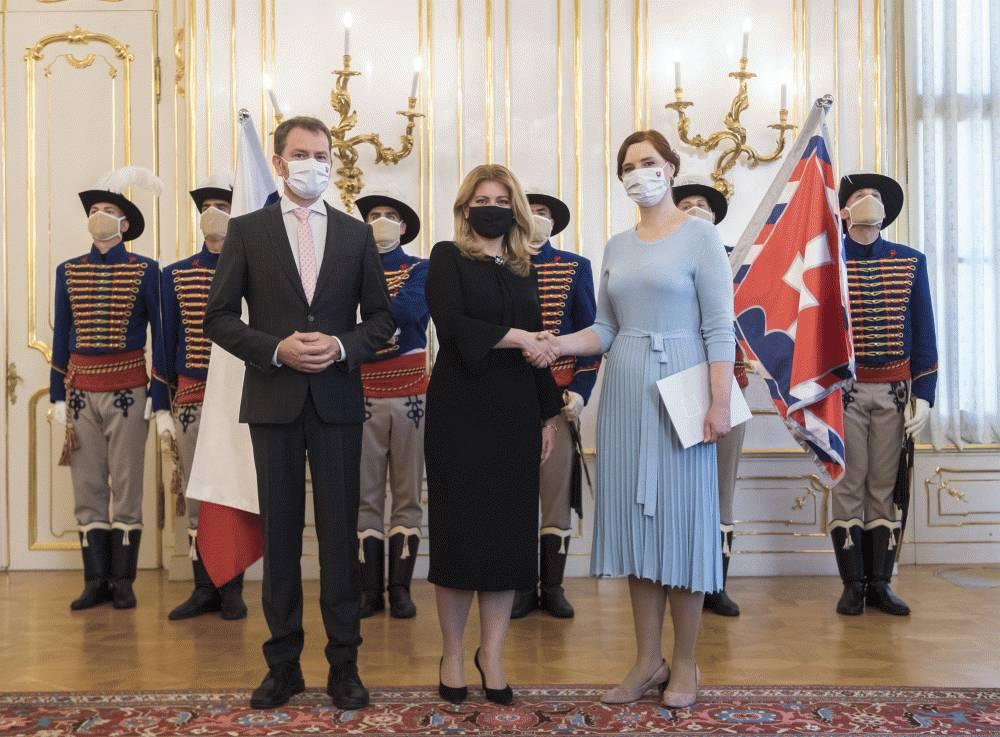 Prezidentka poverila Veroniku Remišovú riadením nového ministerstva