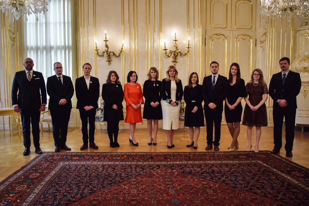 Prezidentka prijala investigatívnych novinárov a občianskych aktivistov