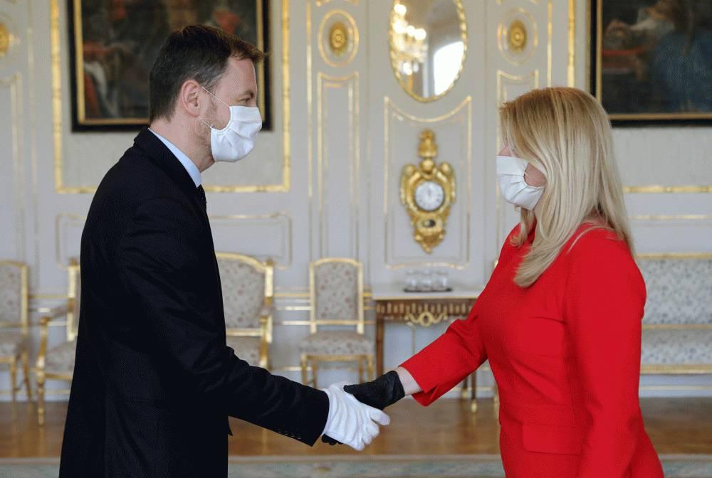 Prezidentka sa stretla s ministrom financií