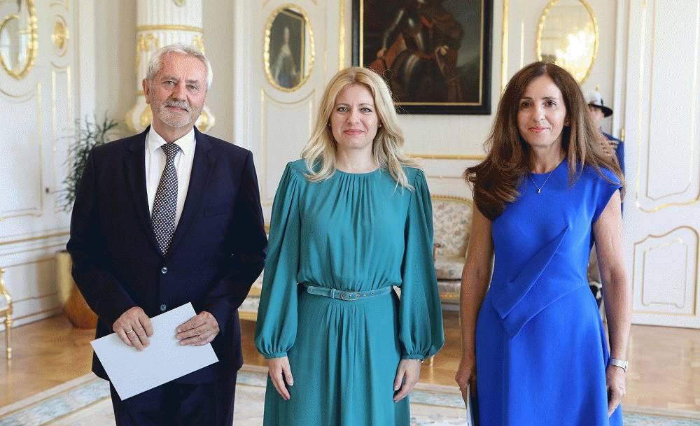 Prezidentka vymenovala členov súdnej rady