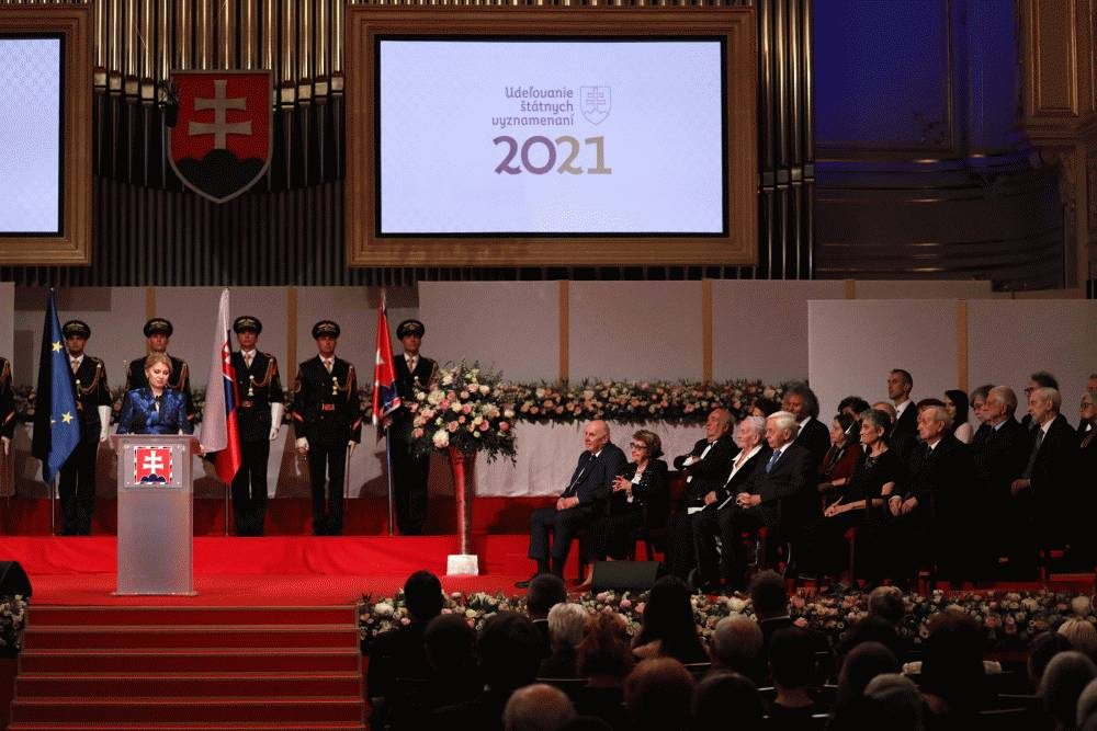 President Decorates 24 Individuals