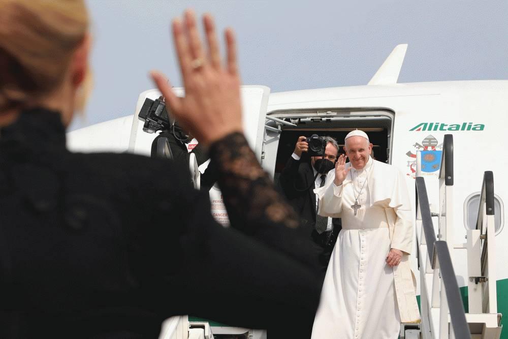 Prezidentka sa zúčastnila na omši v Šaštíne a rozlúčila sa s pápežom