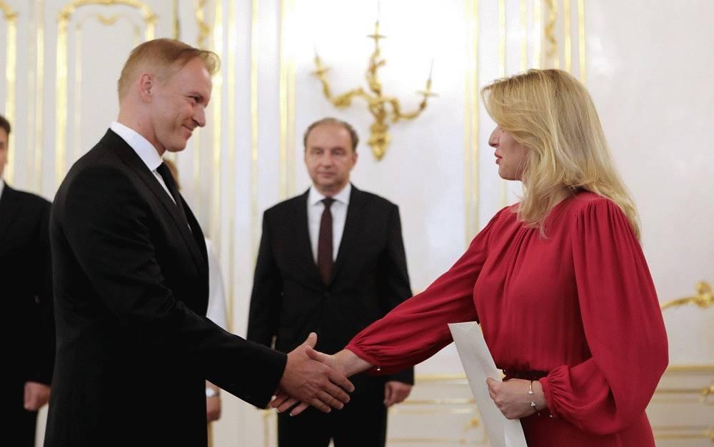 Prezidentka veľvyslancom: Reprezentovať krajinu je zodpovednosť