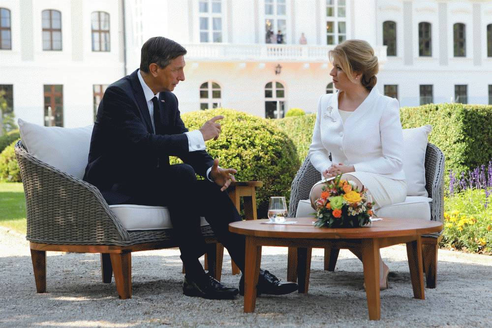 Na návštevu SR pricestoval slovinský prezident Borut Pahor