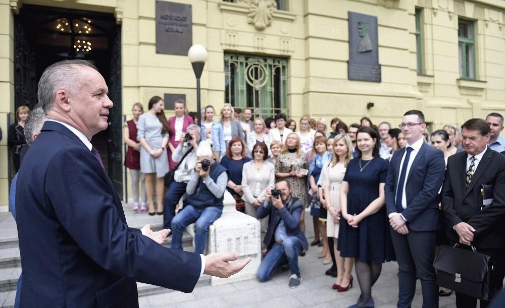 Prezident Kiska hovoril v Košiciach o riešení problémov regiónu
