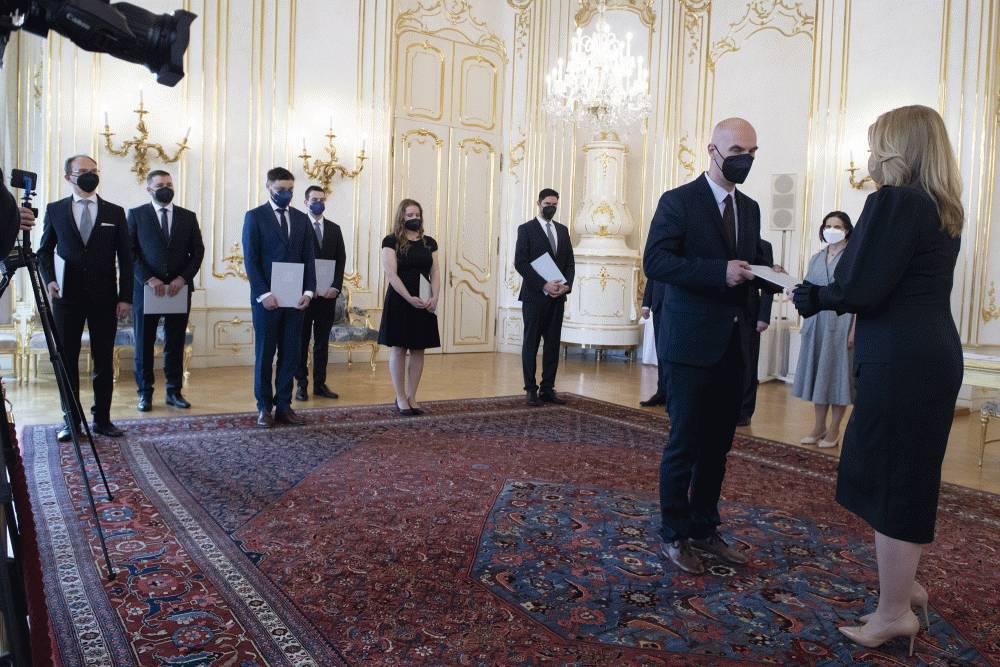 Prezidentka vymenovala sedem nových sudcov