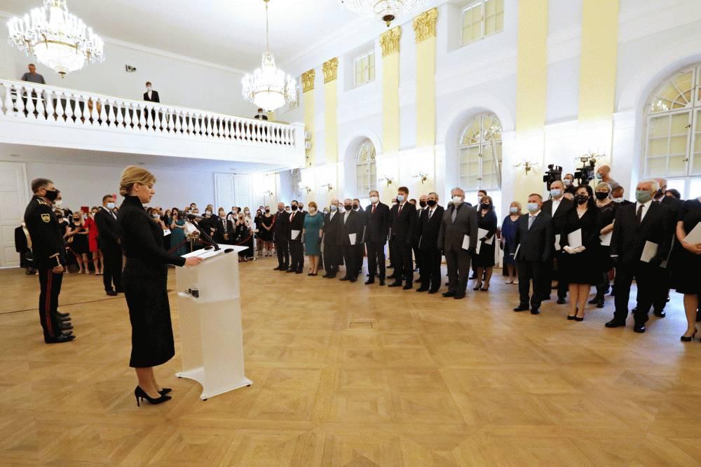 Prezidentka vymenovala 54 vysokoškolských profesorov