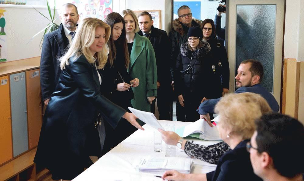 Voľby sú podľa prezidentky príležitosťou ovplyvniť budúcnosť Slovenska