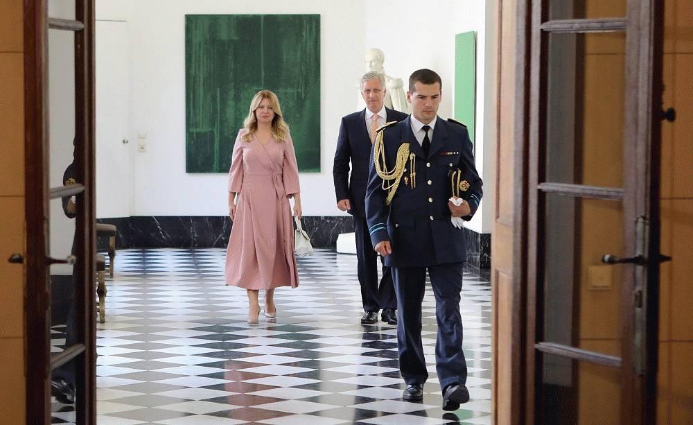 Prezidentka v Bruseli: Myslím si, že budúcnosť Slovenska je v jednotnej a silnej EÚ