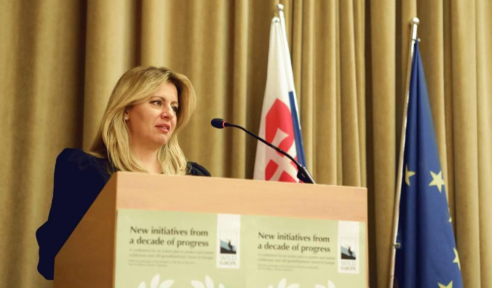 Prezidentka na konferencii Wild Europe upozornila na výrub lesov