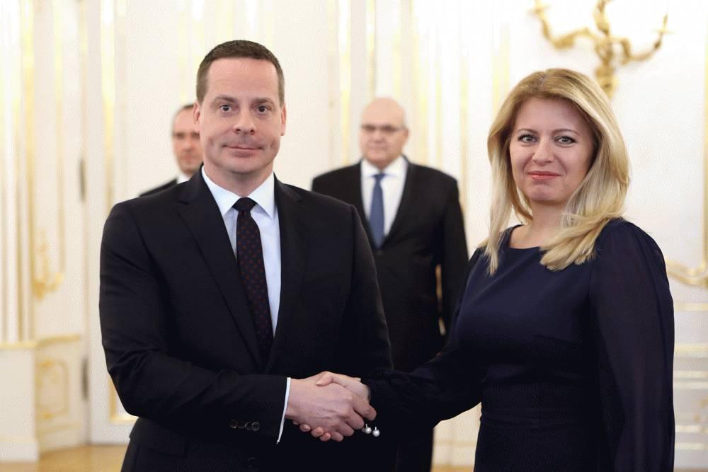 Prezidentka odovzdala poverovacie listiny dvom novým veľvyslancom