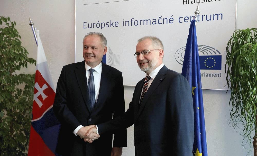 Prezident sa poďakoval Zastúpeniu Európskej komisie na Slovensku
