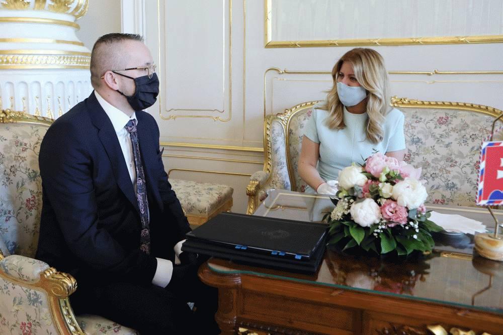 Prezidentka sa pracovne stretla s riaditeľom SIS