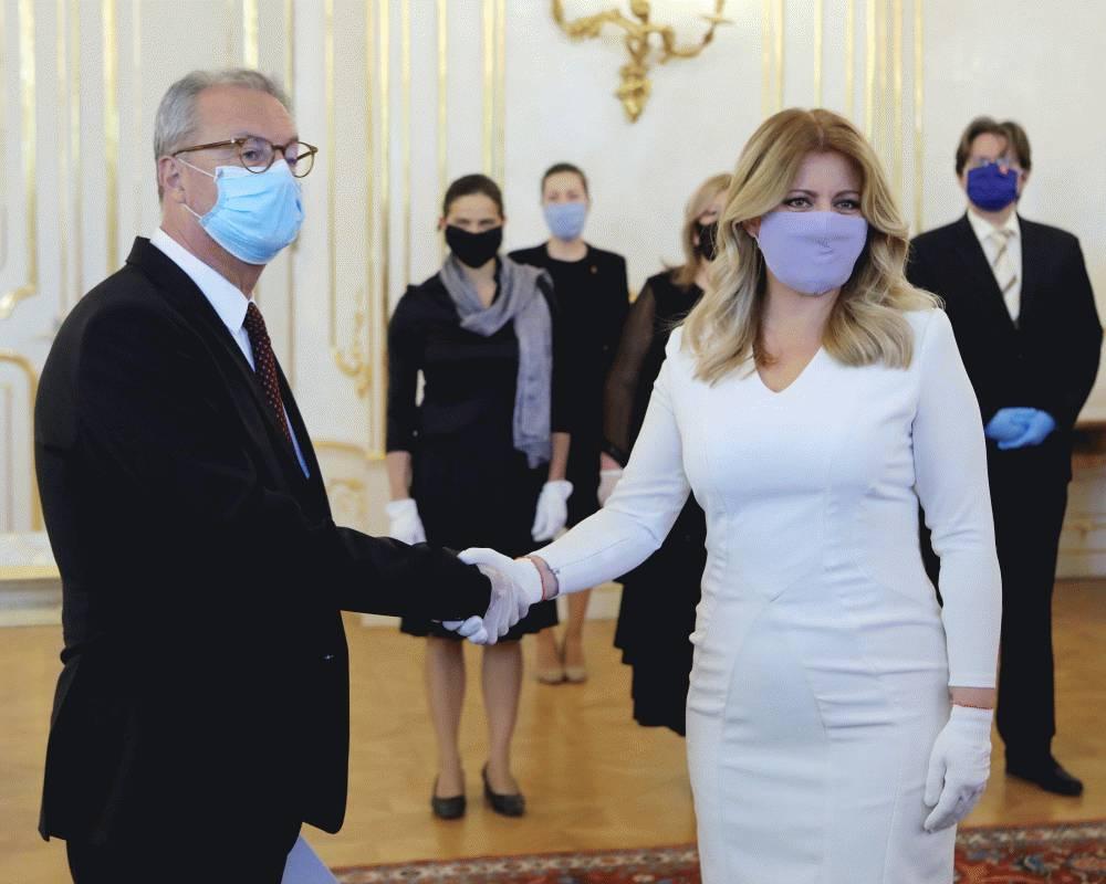 Prezidentka vymenovala Jána Šikutu do funkcie predsedu Najvyššieho súdu SR