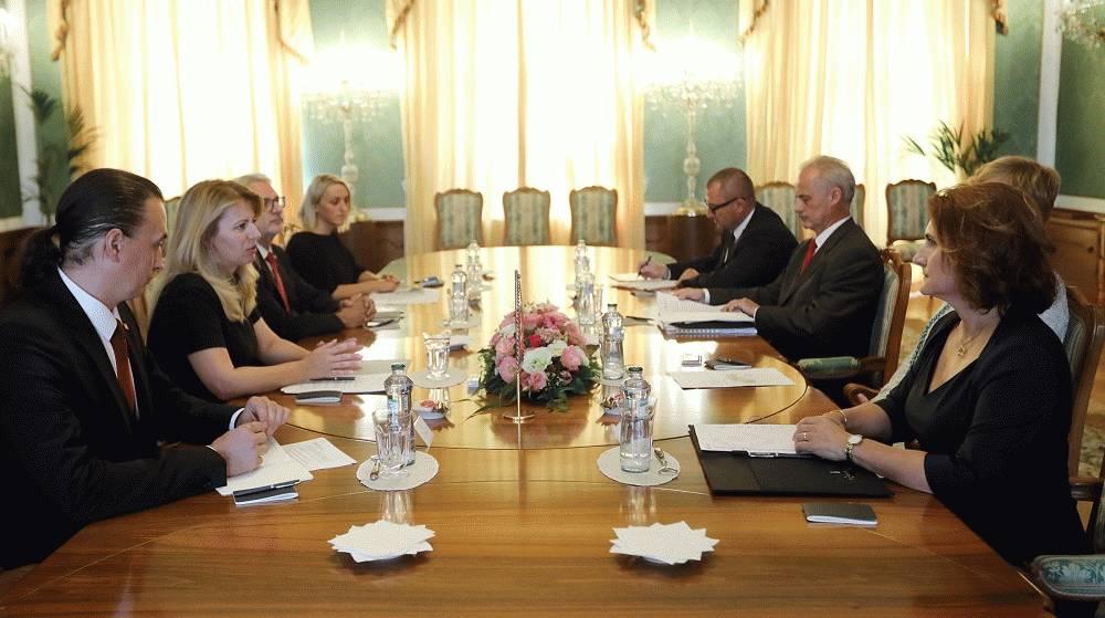 Prezidentka sa stretla s delegáciou Úradu jadrového dozoru SR