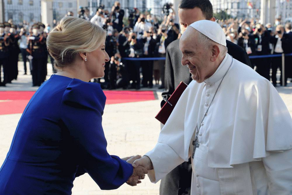Pope Francis sees Slovakia as a messenger of peace in the heart of Europe